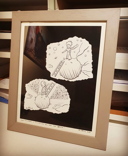 One of the original drawing from my early Pencil Vs Camera works :) #drawing #pencilvscamera #art #dessin #benheineart #illustration #lepetitprince #petitprince
