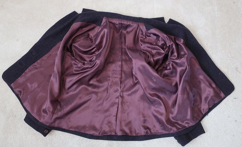 H blazer full lining