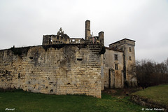 24 Mareuil - Château XV XVI - Photo of Combiers