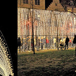 CATHEDRAL OF LIGHT – Mandylight, Festival de lumières `Bright Brussels`, Bruxelles, Belgium