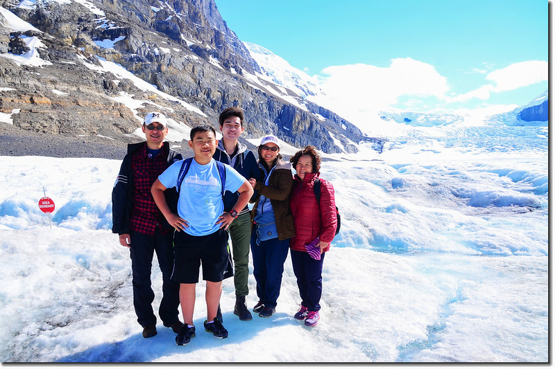 On Athabasca Glacier (1)
