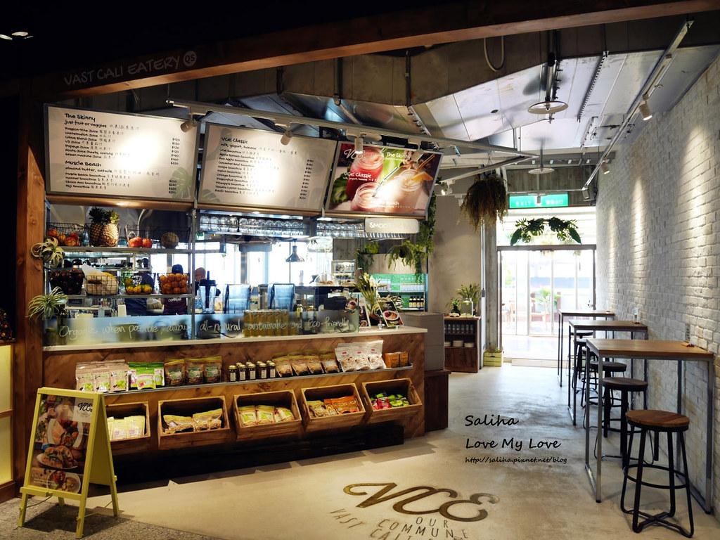 台北中山站不限時下午茶餐廳VCE南加州餐飲生活概念店南西店 (2)