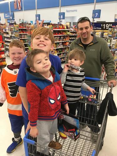 The ill-fated Walmart run