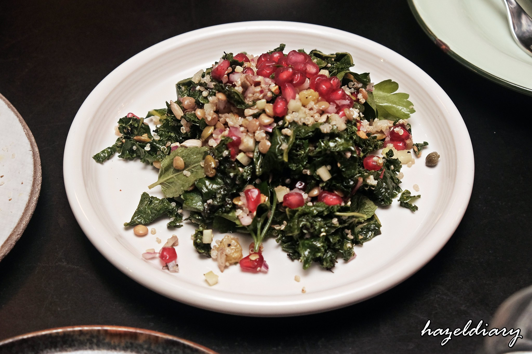 The Botanic Raffles City Shopping Mall-Kale Seeds and Grains