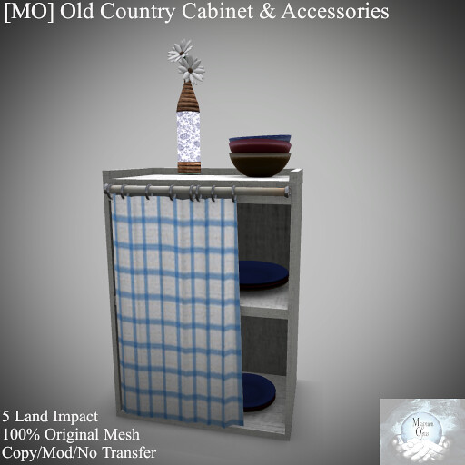 [MO] Old Country Cabinet & Accessories - TeleportHub.com Live!