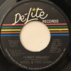 KOOL & THE GANG:FUNKY GRANNY(LABEL SIDE-A)