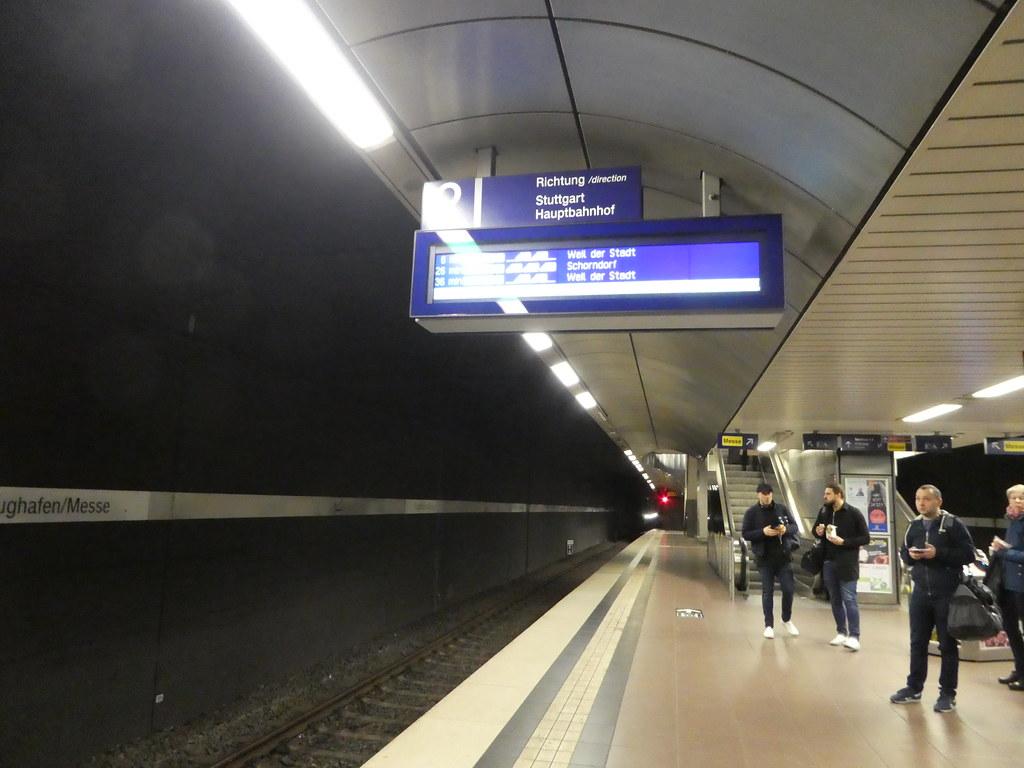 S Bahn Stuttgart Airport