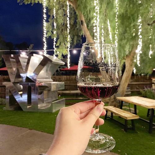 Malibu wine beer garden