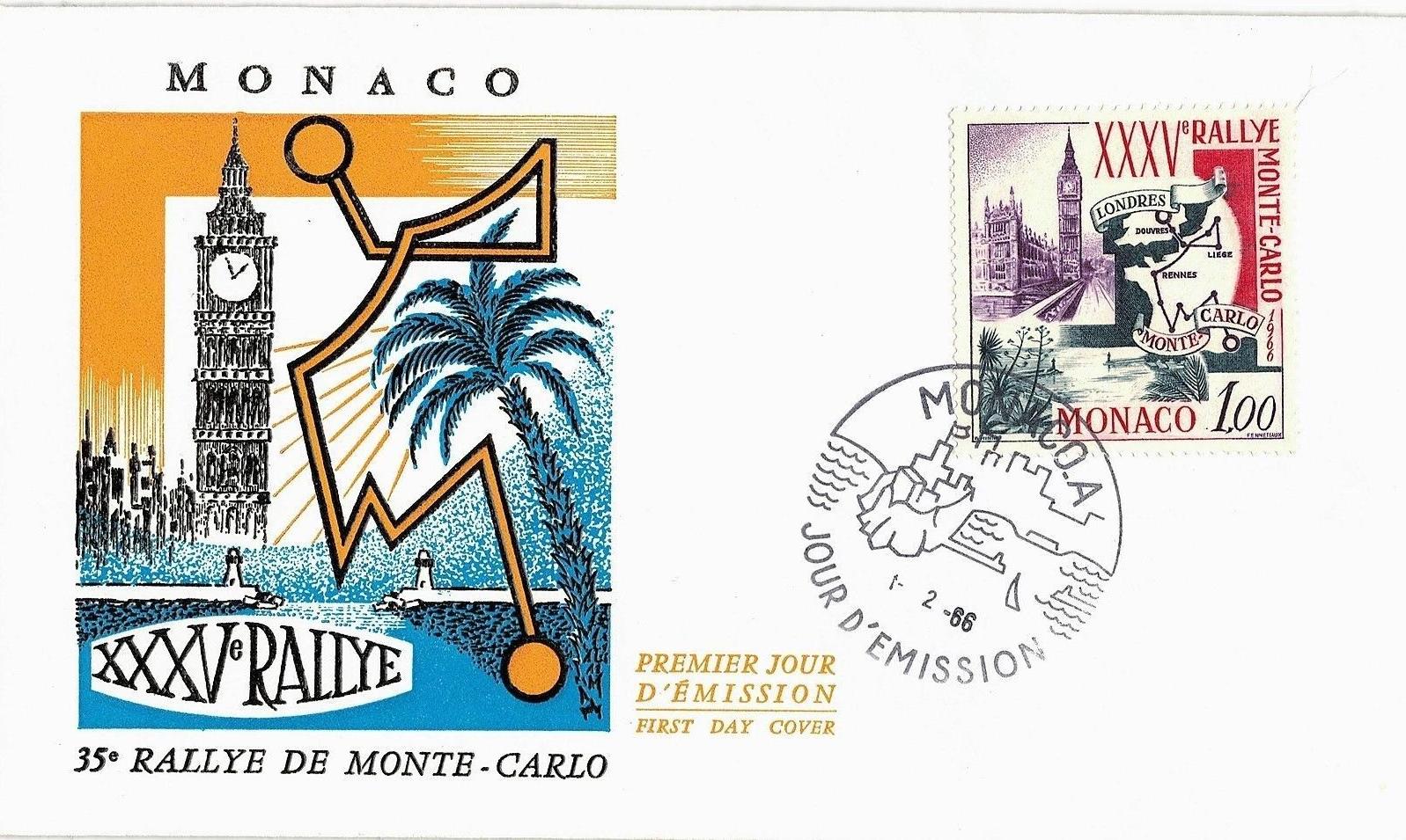 Monaco - Scott #629 (1966) first day cover