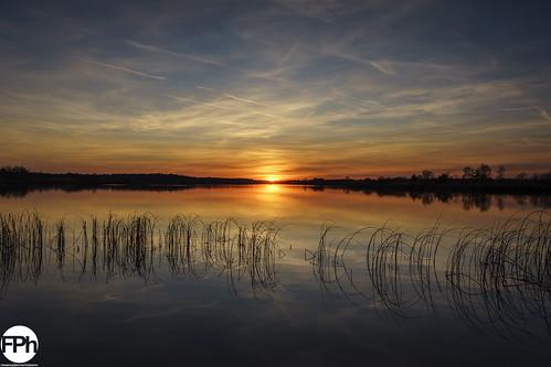 Sunset at Ringselven