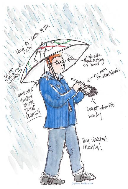 Rain sketcher
