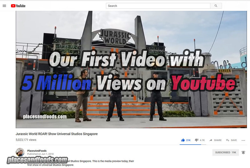 youtube 5 mil