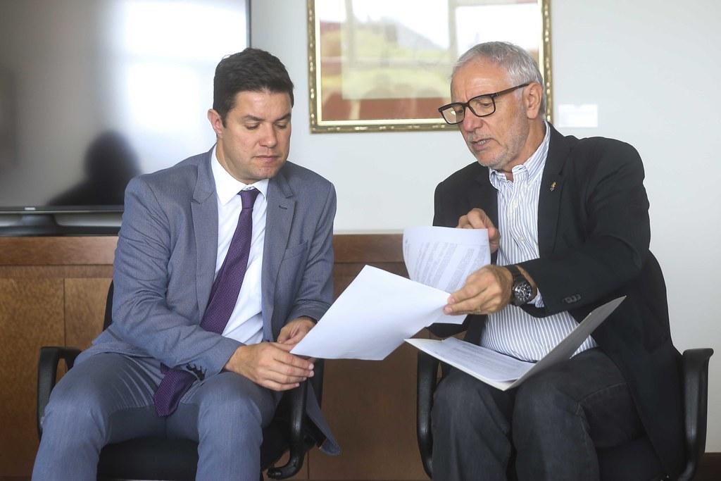 Reunião com Secretario da Casa Civil Guto Silva
