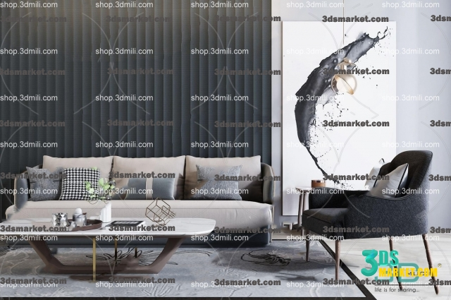 Astounding The Collection Of Sofa Modern New 2019 Part 2 3Ds Market Alphanode Cool Chair Designs And Ideas Alphanodeonline