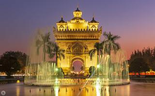 Patuxai, Vientiane [LA]