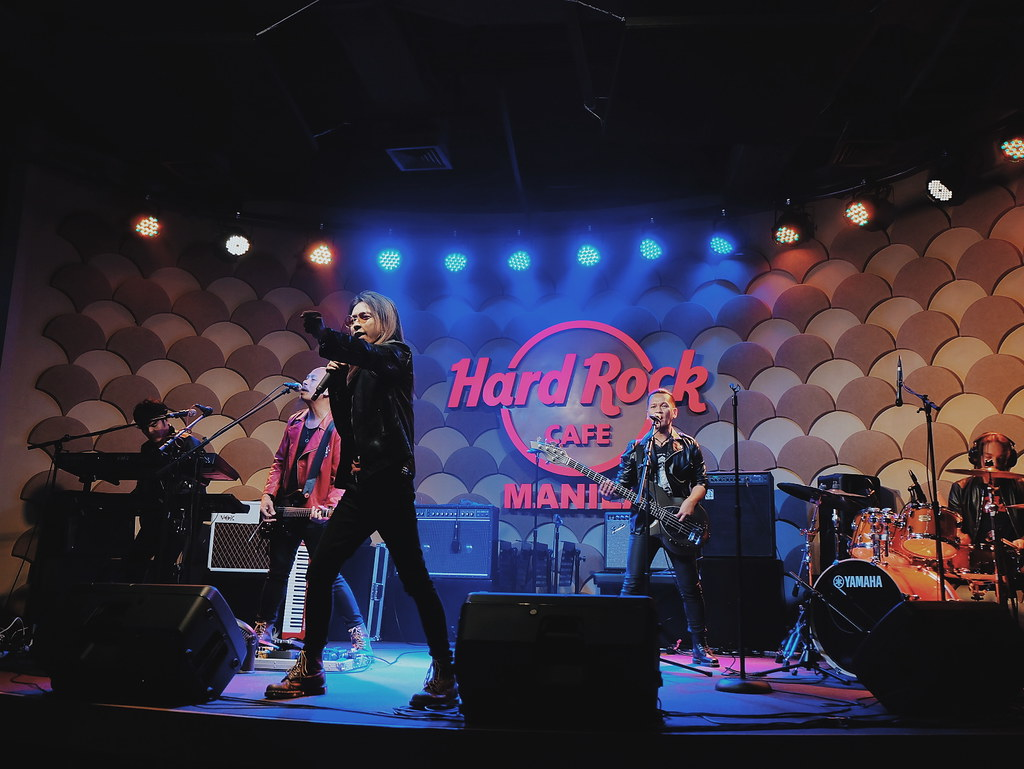 The New Hard Rock Cafe Manila in S Maison SM Mall of Asia