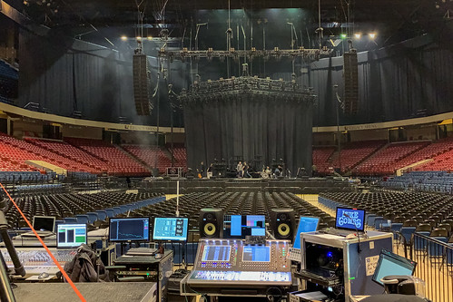 Setting Up for the Show (Luke Combs)