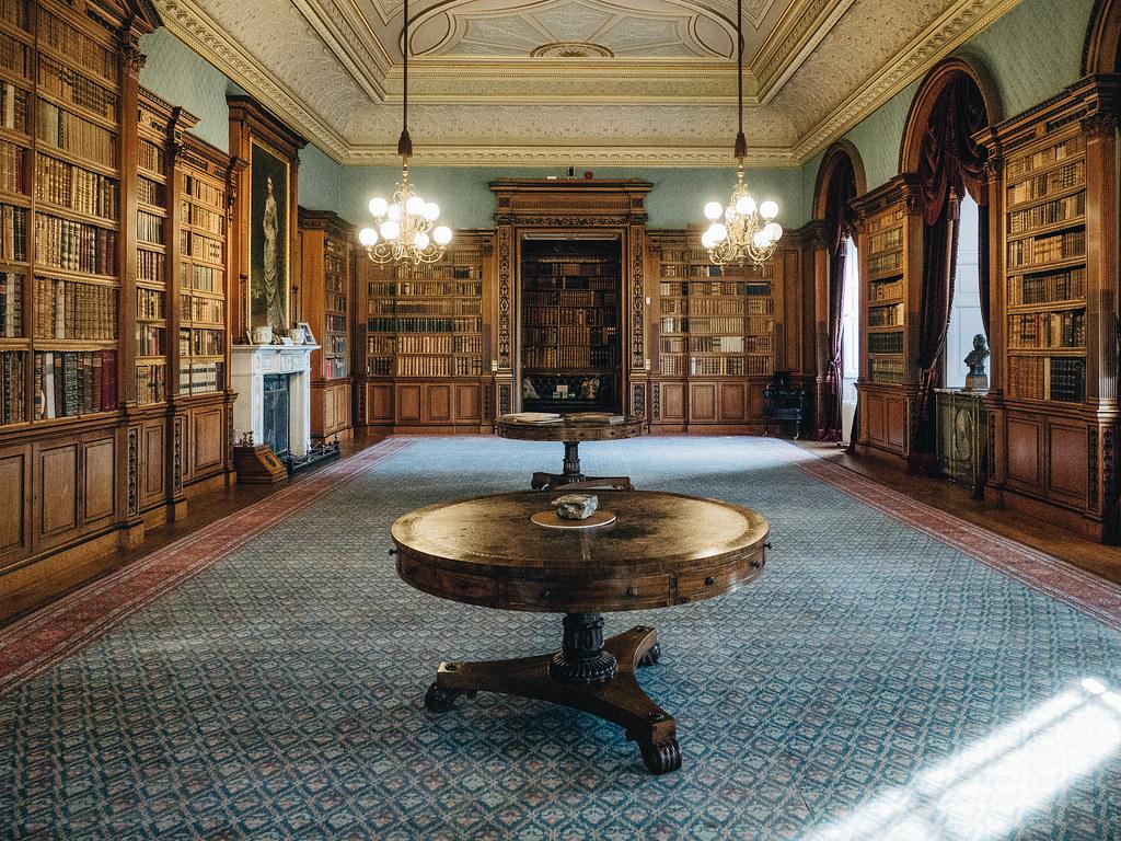 Haddo House - library-5