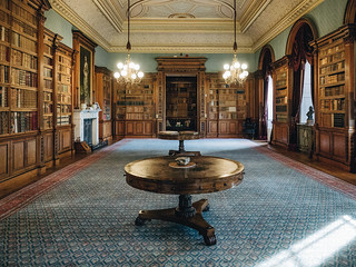 Haddo House - library-5 | by Macaroons
