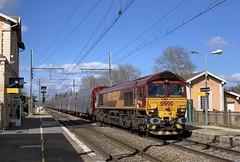 Class 66032 et fret