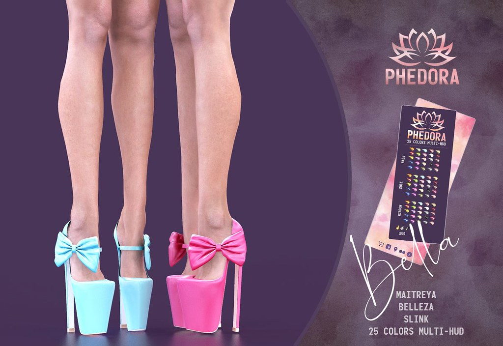 "Phedora. for Belle. Events ~ ""Bella"" heels♥"