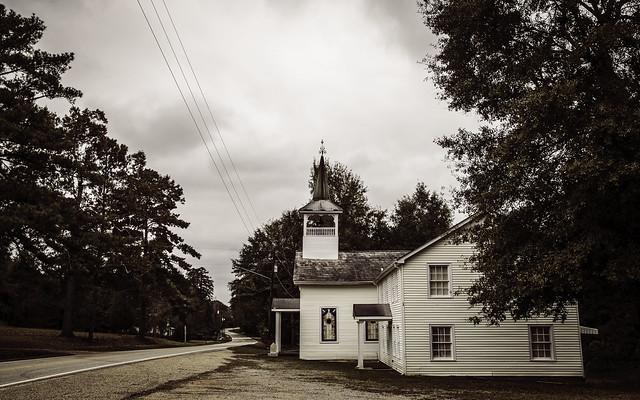 Pine Apple Methodist Church 1872  Pine Apple Alabama 2017 V2