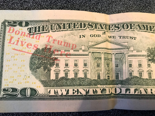 Trump Slogan Stamped on $20 Bill
