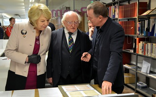 Irish President MD Higgins visit to Liverpool February 12th and 13th 2019 Gerry Molumby (75) | by triskellion_uk