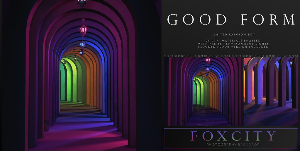 FOXCITY. Photo Booth – Good Form (LTD)