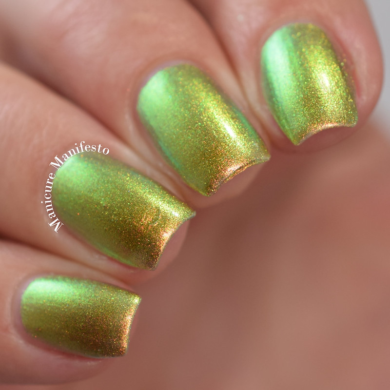 EDM Goddess Of Rays swatch