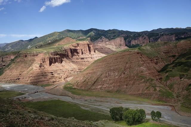Landscape of Kawasumdo county, Tibet 2018