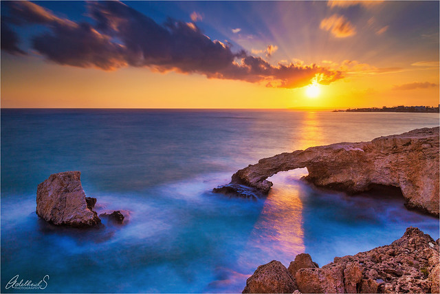 Love Bridge Sunset, Cyprus