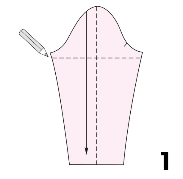 Tight Sleeve STEP 1