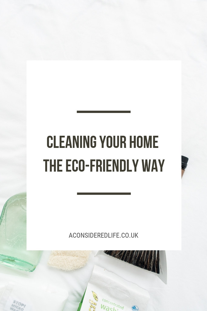 Low Waste Eco-Friendly Cleaning