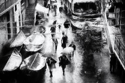 Rainy day Manarola