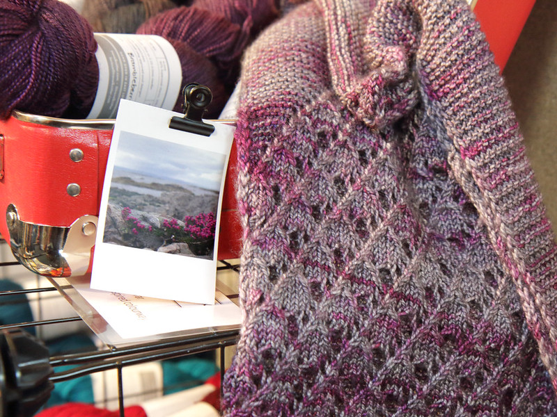 Travel Knitter at EYF 2019