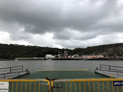 On the ferry at Passage East