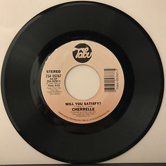 CHERRELLE WITH ALEXANDER O'NEAL:SATURDAY LOVE(RECORD SIDE-B)