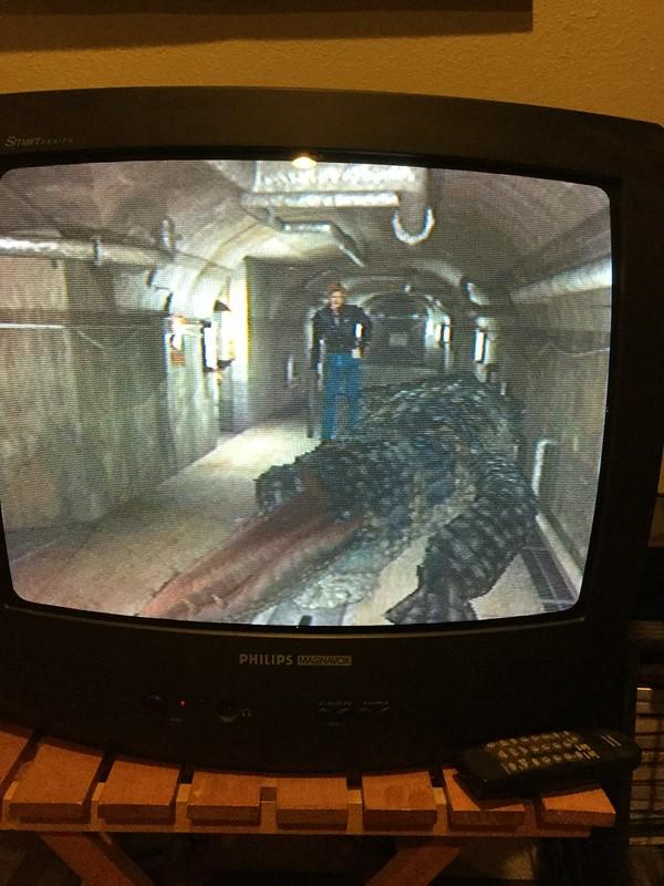Resident Evil 2 gator