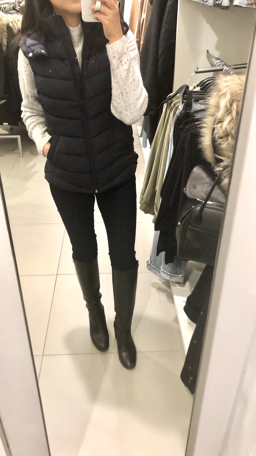 H&M Padded Vest, size 2 (item no. 0697245001)