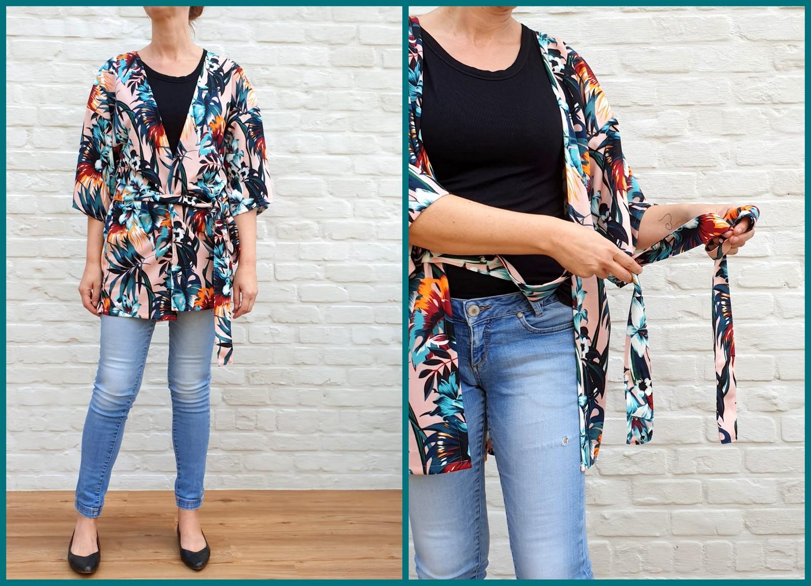 kimono (collage)