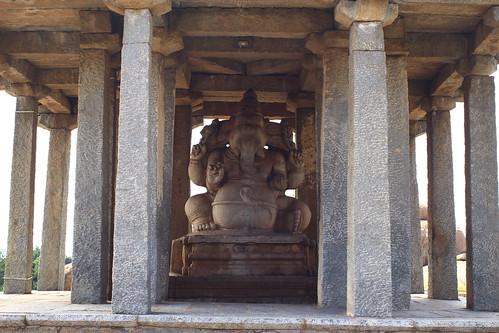 Sasuvekalu Ganesha@Hampi