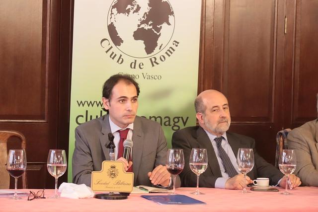 """GVCECR Dn. Mikel Larreina """"Las finanzas en la Nueva Economía. Retos y Cambios"""""""