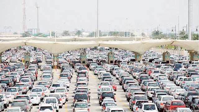 5013 What is the best time to cross Bahrain causeway