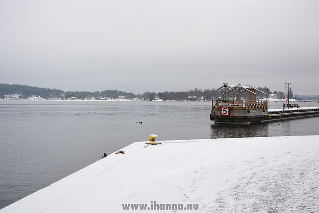 Winter view Waxholm  (Photo copyright Hanna Andersson)