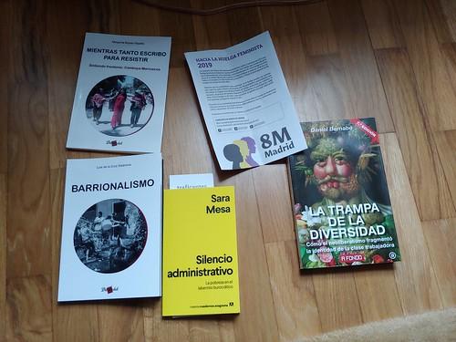 Madrilgo liburu batzuk