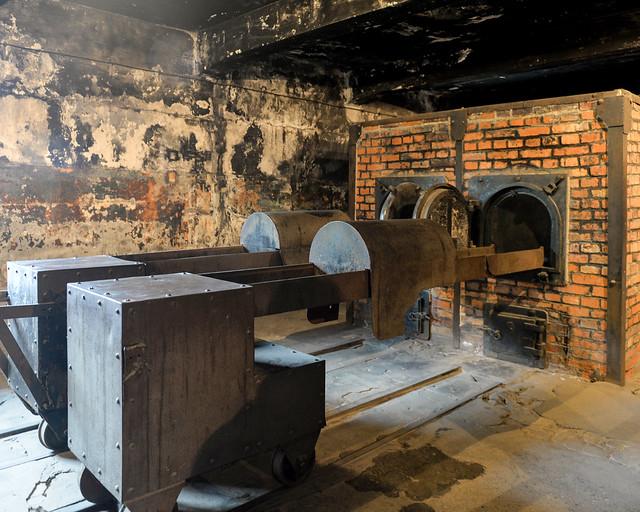 Hornos crematorios de Auschwitz