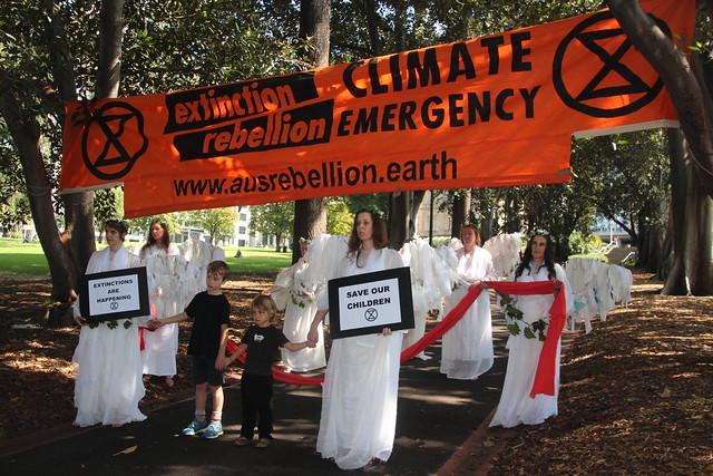 Extinction Rebellion Declaration Day Melbourne
