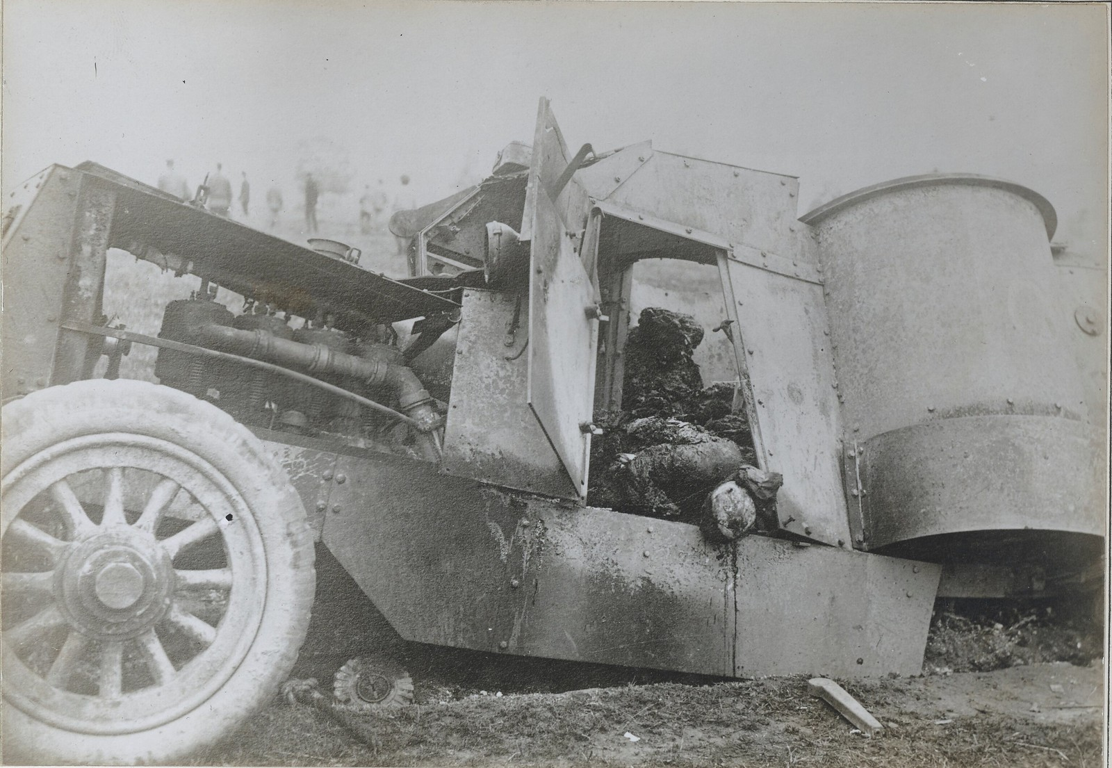 1917. Остин 9 бронедивизиона. Уничтожен в августе в боях под Тарнополем