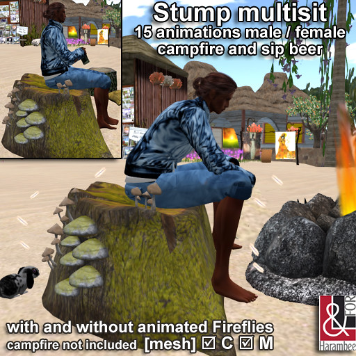 Stump multisit 15 animations
